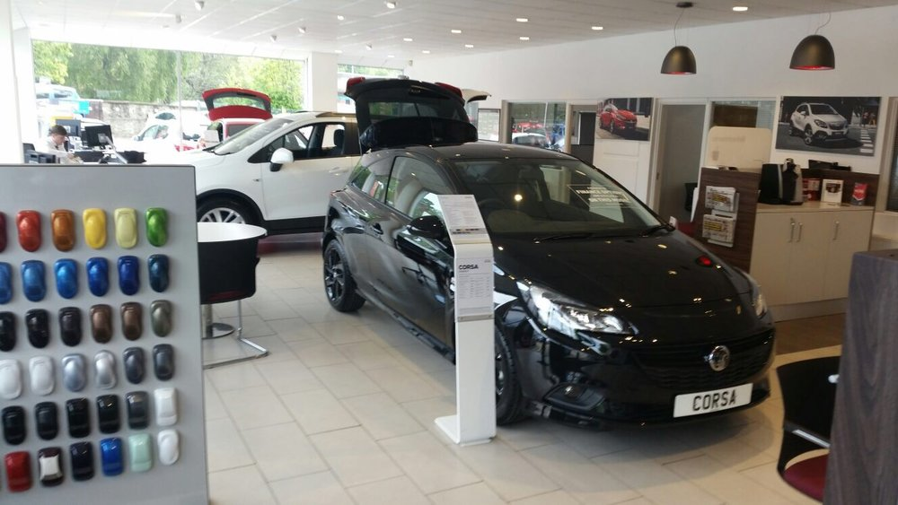 VAUXHALL DEALERSHIPS -