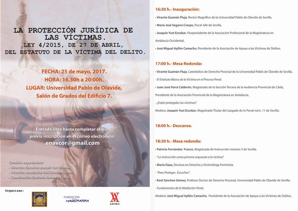 cartel jornada Sevilla