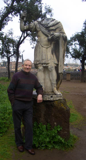 Stan Hall in Rome 2007