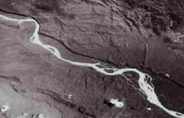 Pastaza River Stretch of Tayu Cave Location