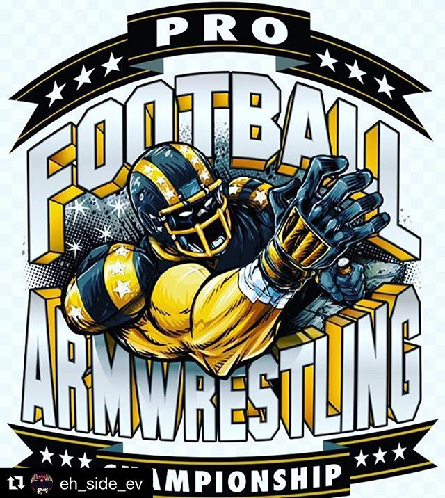 #RP @eh_side_ev ...yes, this is real and yes I'm watching it right now - freaking awesome! #profootballarmwrestling #sunday