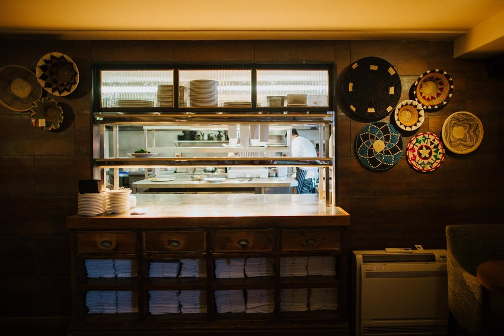 The kitchen pass at The Globe pub and hotel in Warwick.jpg
