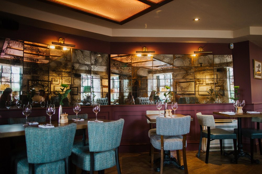 The restaurant at The Globe pub and hotel in Warwick.jpg