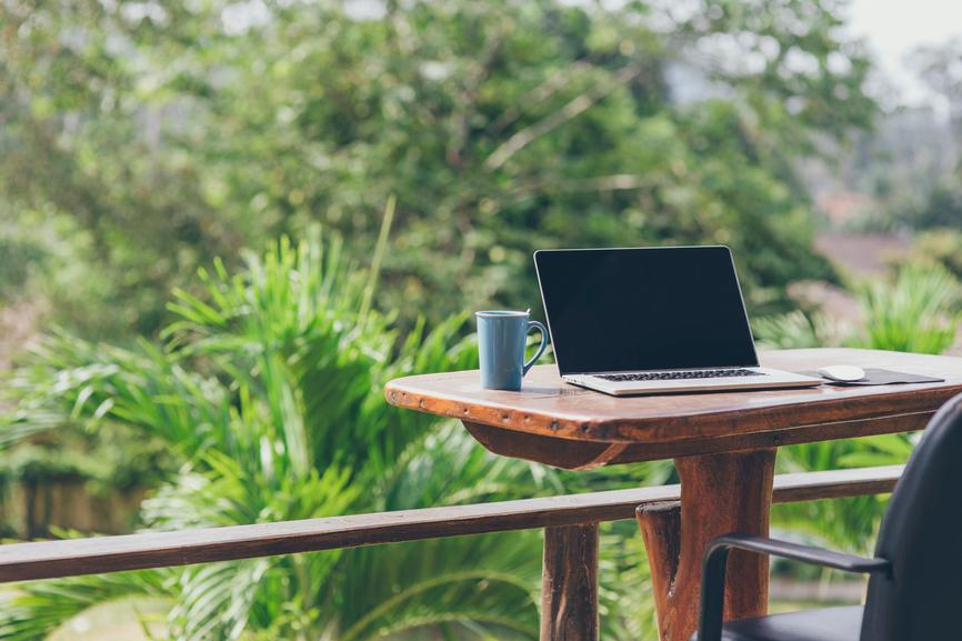 Ook in het zonnetje van de pc of tablet genieten? -