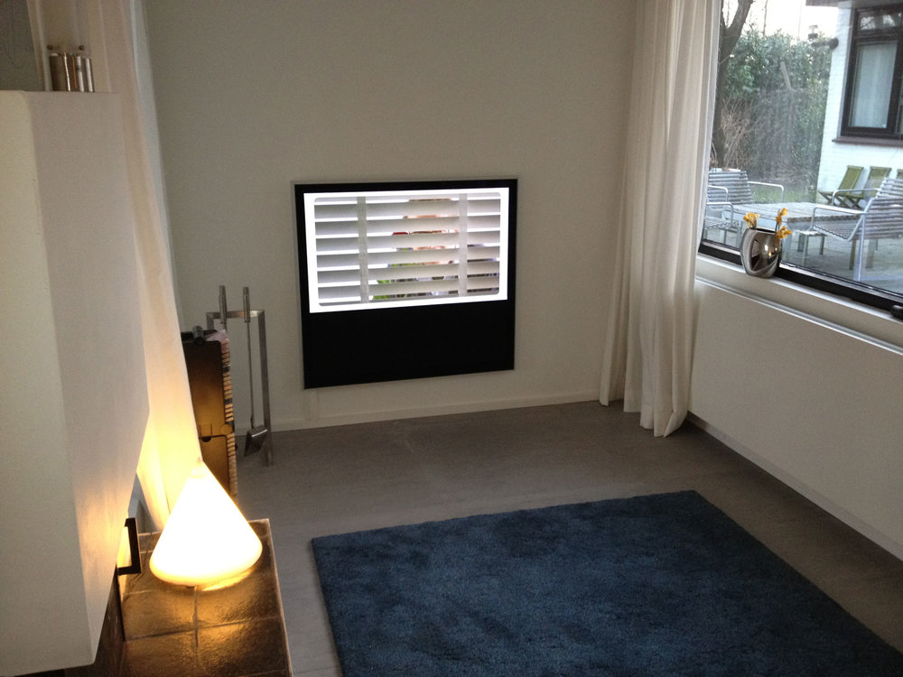 Televisie kamer met BeoVision 10-40, Incl Apple TV en Sony Playstation