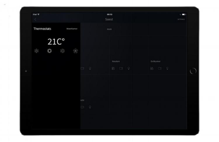 BeoLink app 2 van Bang en Olufsen. I.c.m. Nest en/of KNX Domotica
