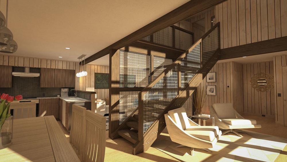 little sunapee contemporary    new london, nh     renovation