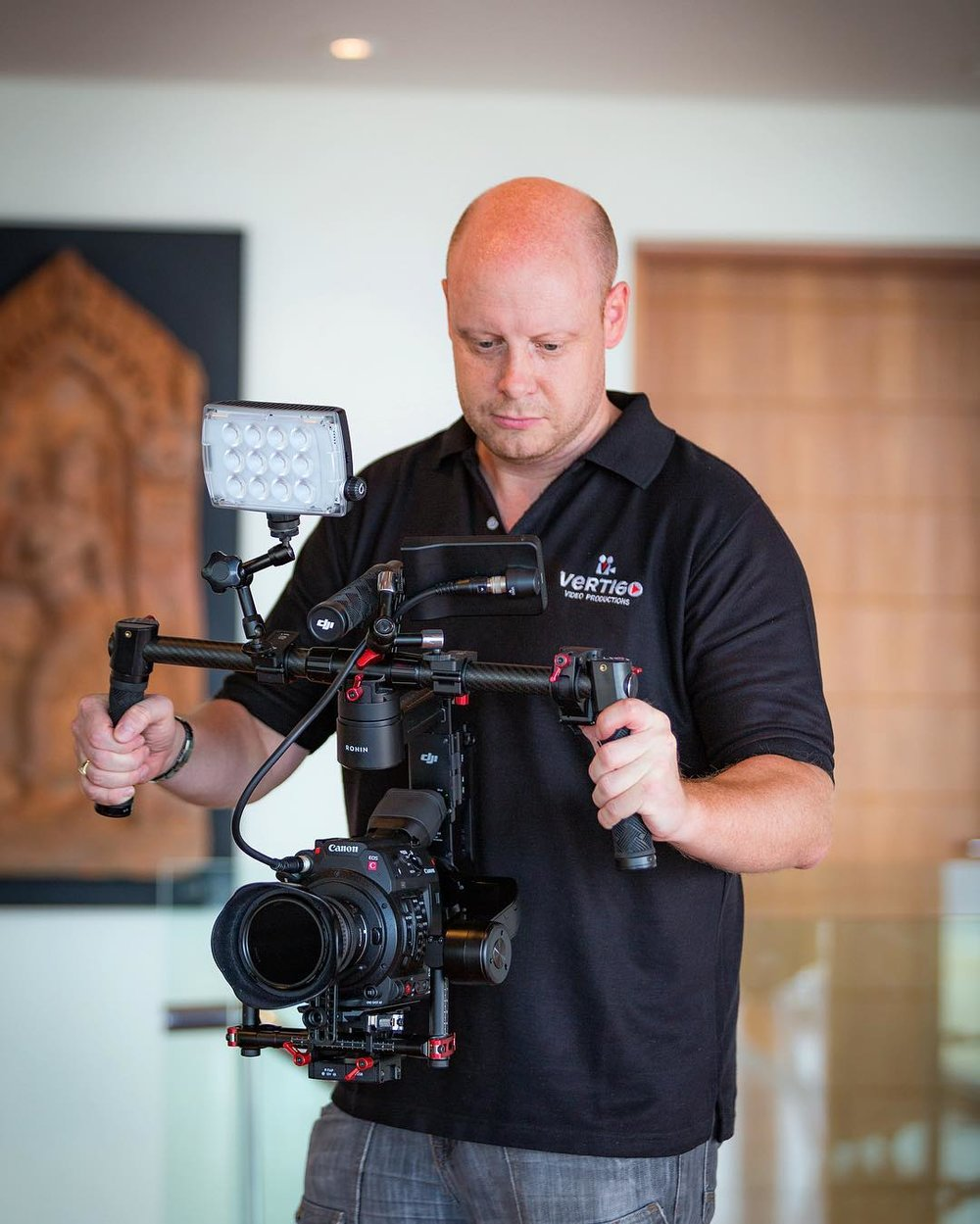 Gear: Canon C200 Cinema Camera (4K) with DJI Ronin-M stabiliser
