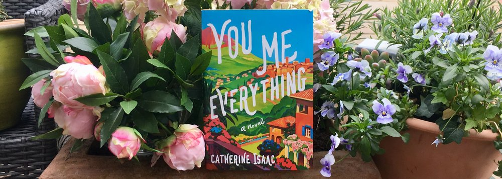 The US edition of 'You Me Everything', on sale today. The New York Post called the novel a 'must read', while Marie Claire said it will 'stay with you long after you're done'.