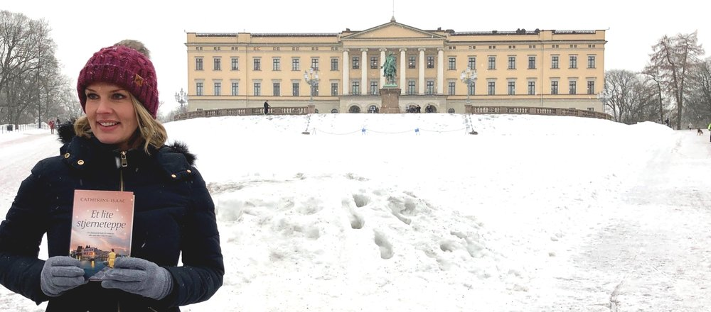 A subtle bit of product placement in front of the Norwegian Royal Palace, Oslo