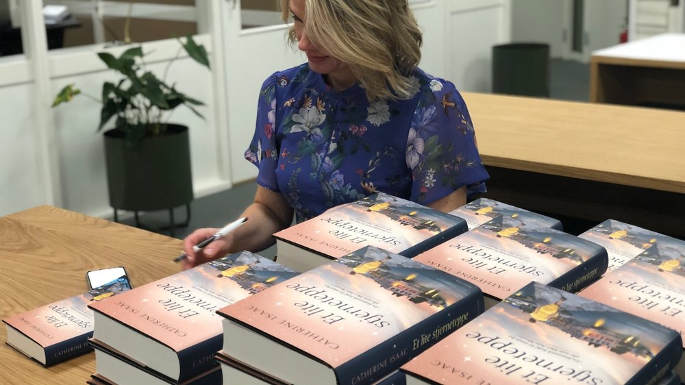 Signing books!