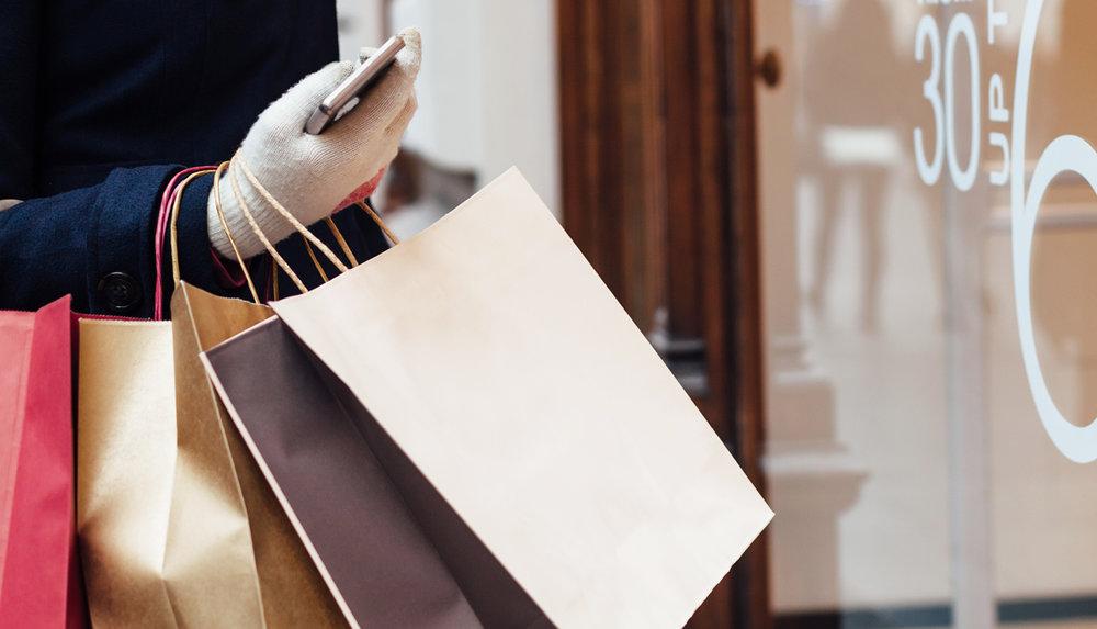 Mit oder ohne eigene Präsenz – Shopping mal einfach. -