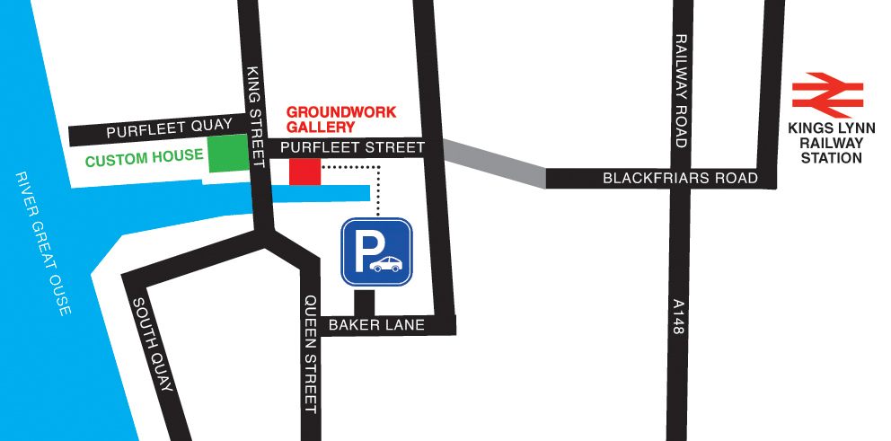 GroundWork gallery map