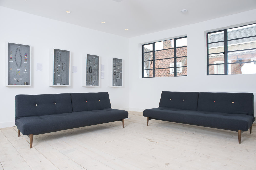 The floor below,  part of the gallery , but also can be available out of gallery hours as part of the let. Here there are 2 extra sofabeds, shower-room, kitchen and balcony overlooking the river Purfleet.