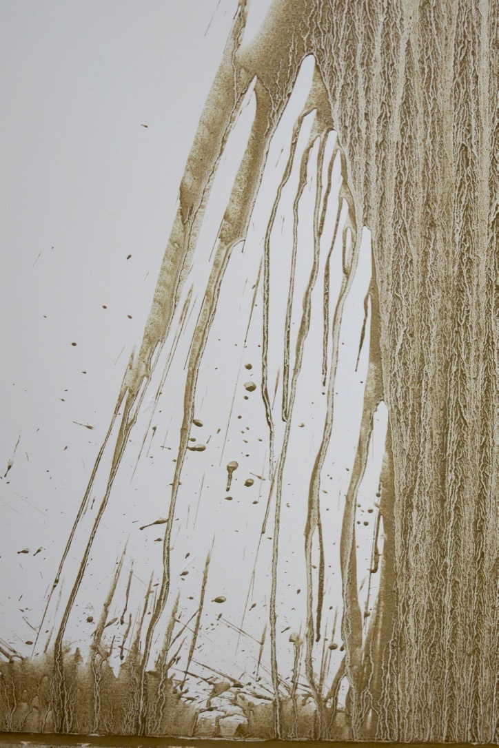 Richard Long, Great Ouse River Drawing, July 2016