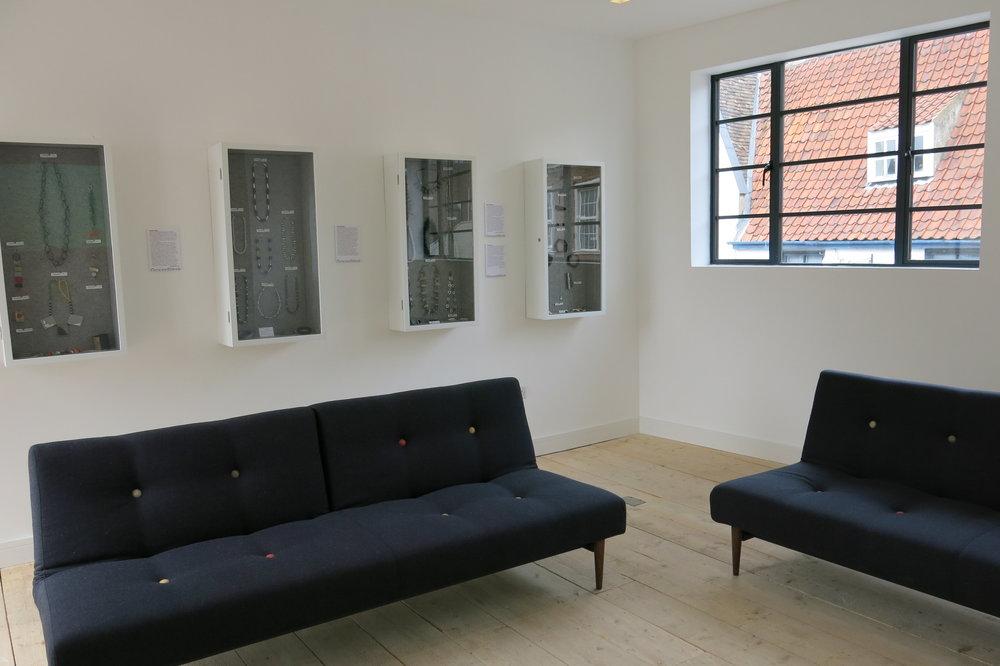 First Floor Living Room, GroundWork Gallery