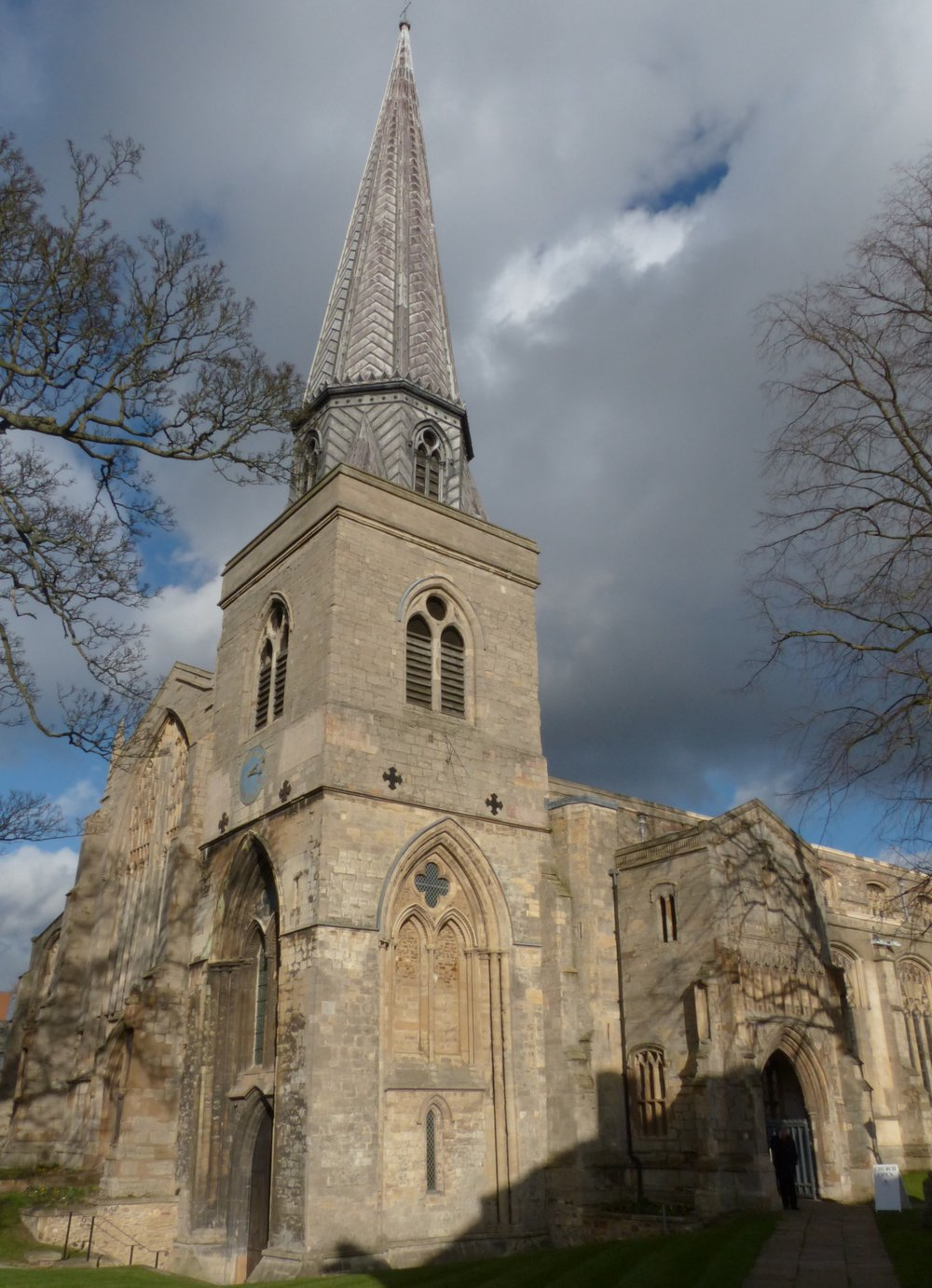 St Nicholas Chapel, a building of outstanding design for its late 14th-early 15th century date & of European importance