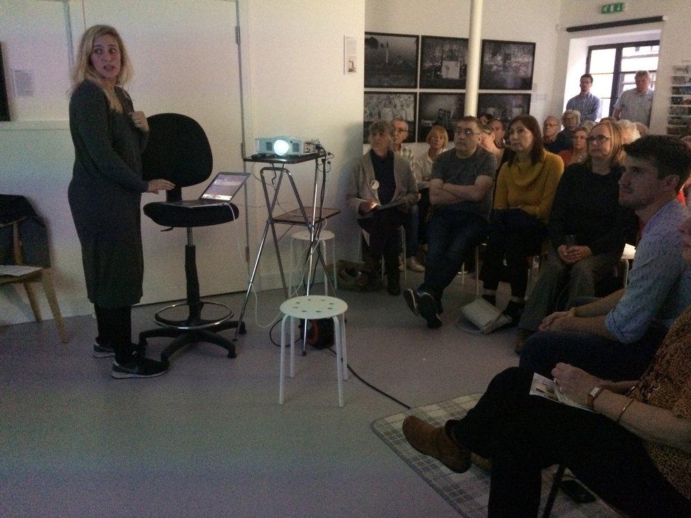 Jessica Rayner speaking