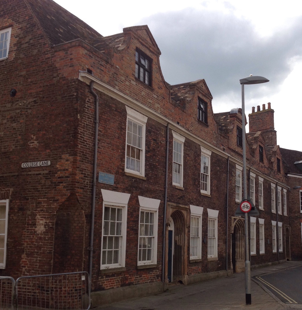 Thoresby College, Queen St. home of the King's Lynn Preservation Trust