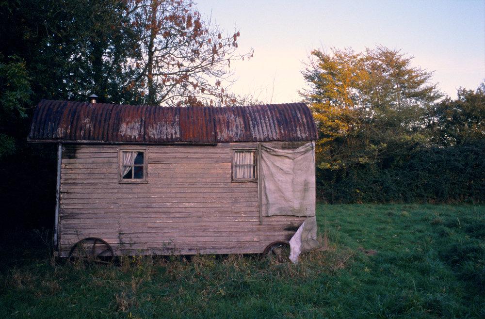 Shepherd Hut, Walnut Tree Farm, Suffolk, 2006; 28.5 x 42 inches, Edn.of 3; 22 x 32 inches, Edn.of 5