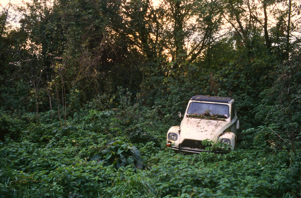 Citroën Dyane, Walnut Tree Farm, Suffolk, 2006; 22 x 32 inches, Edn. of 5