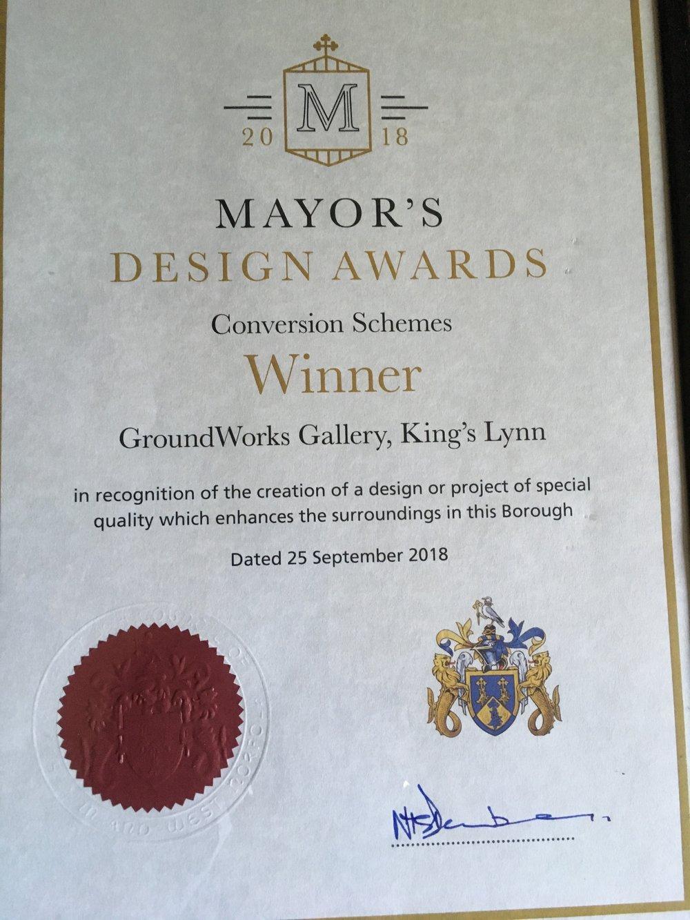 Mayor's design award.jpg