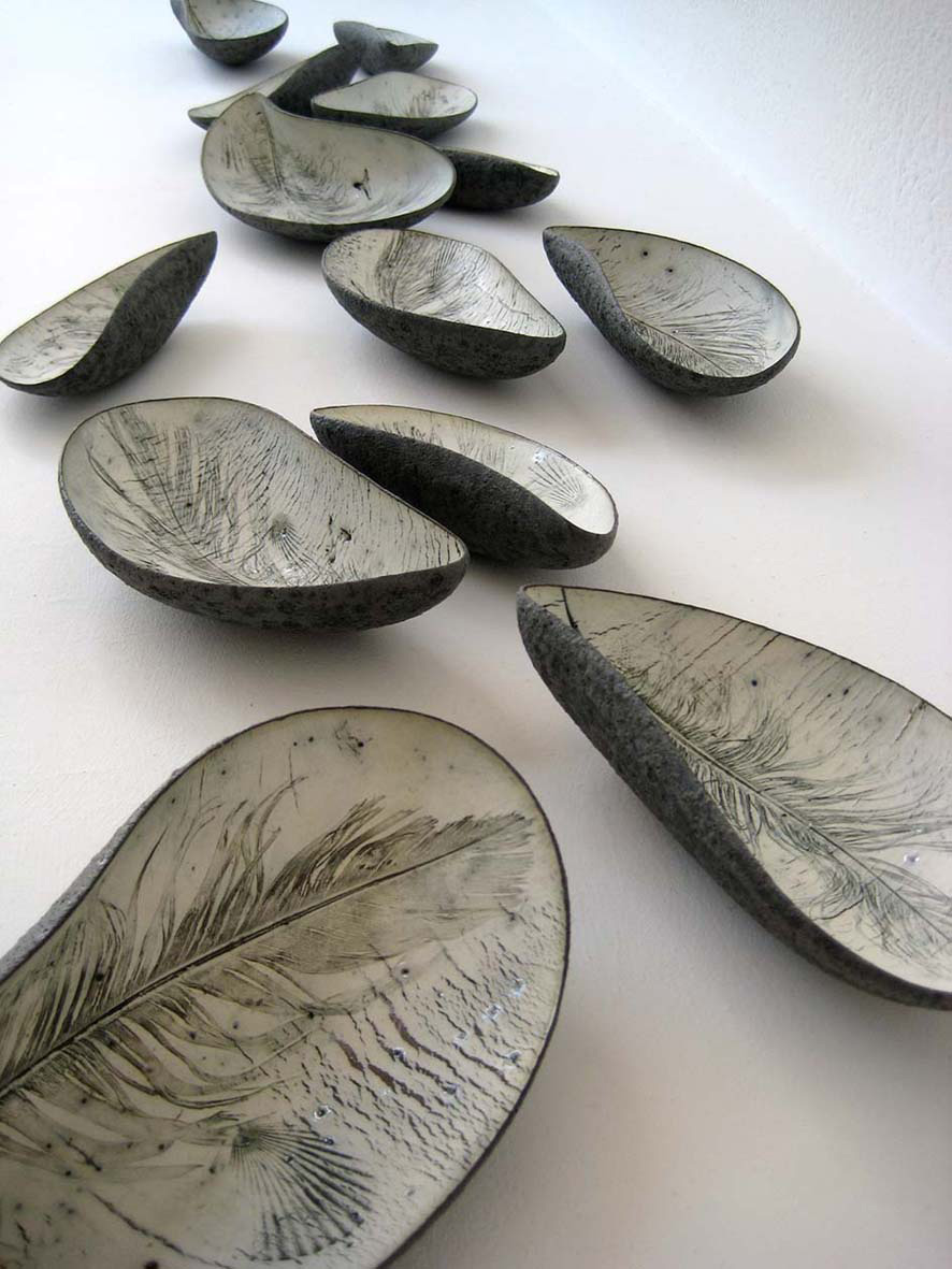 Annie Turner, Mussel Bed, ceramic.