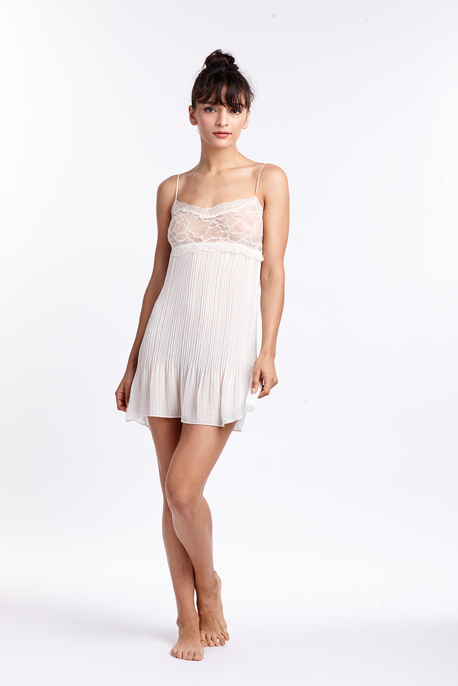 FLAWLESS IVORY CHEMISE