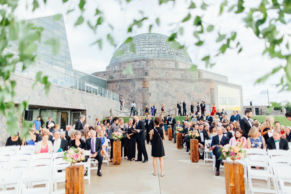 adler planetarium, wrap it up parties