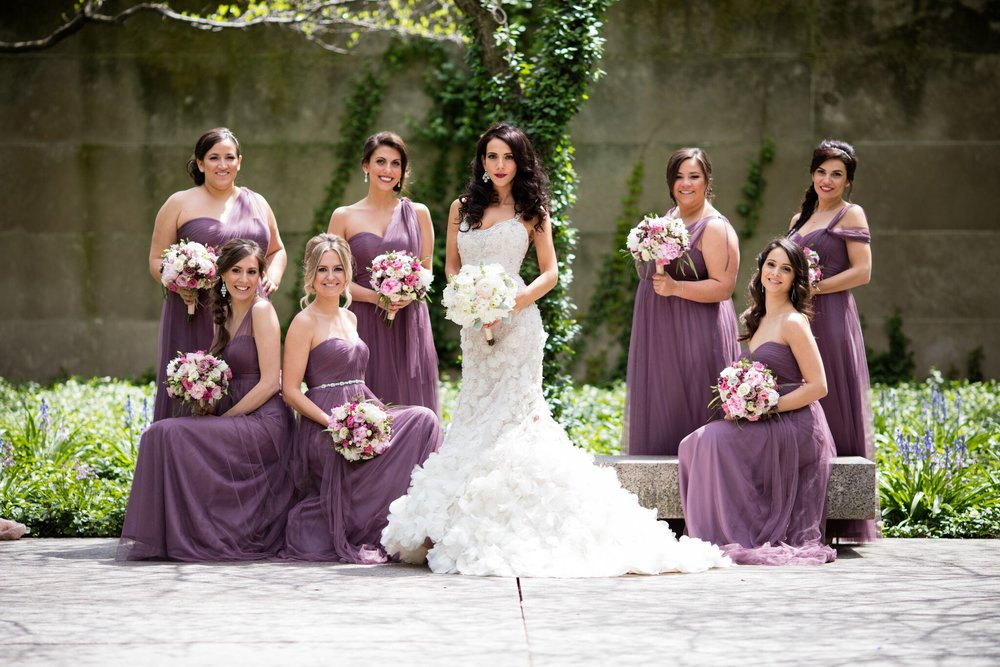 Portrait of Bridal Party