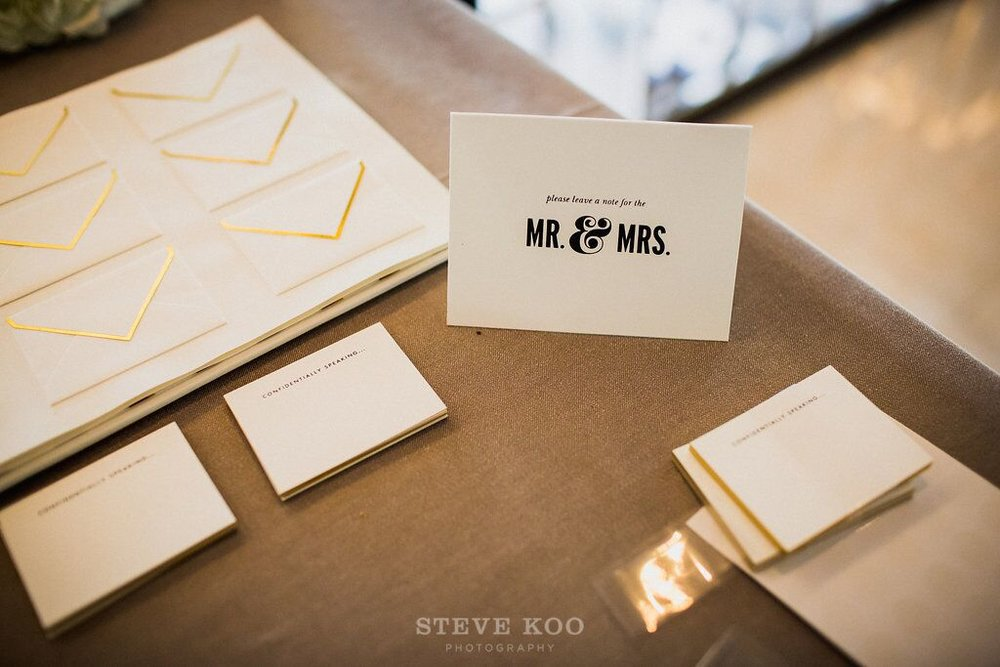 Notes to the Mr. and Mrs.