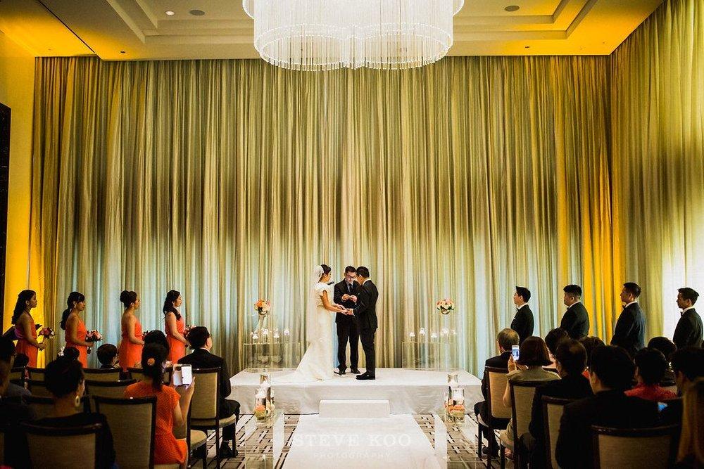 Sleek Ceremony Space