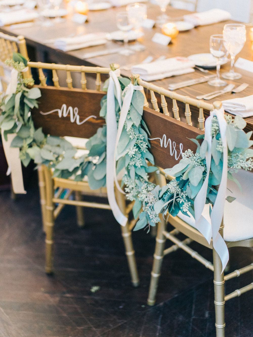 Head Table Details