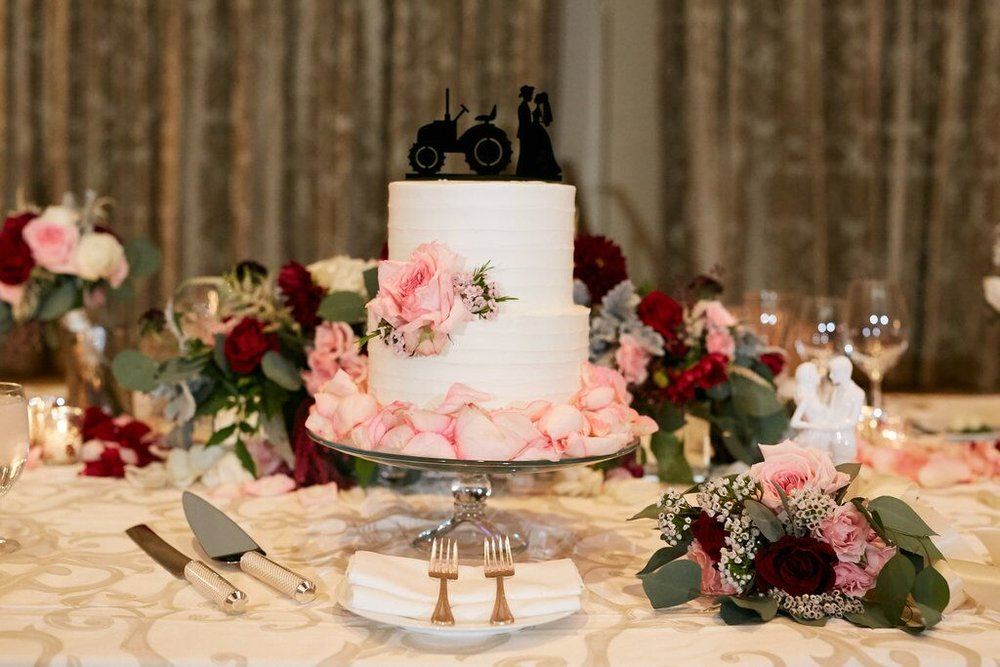 Cake Table Decor