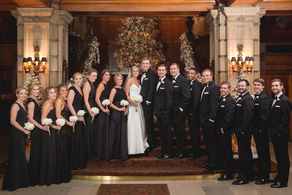 Black Tie Winter Wedding