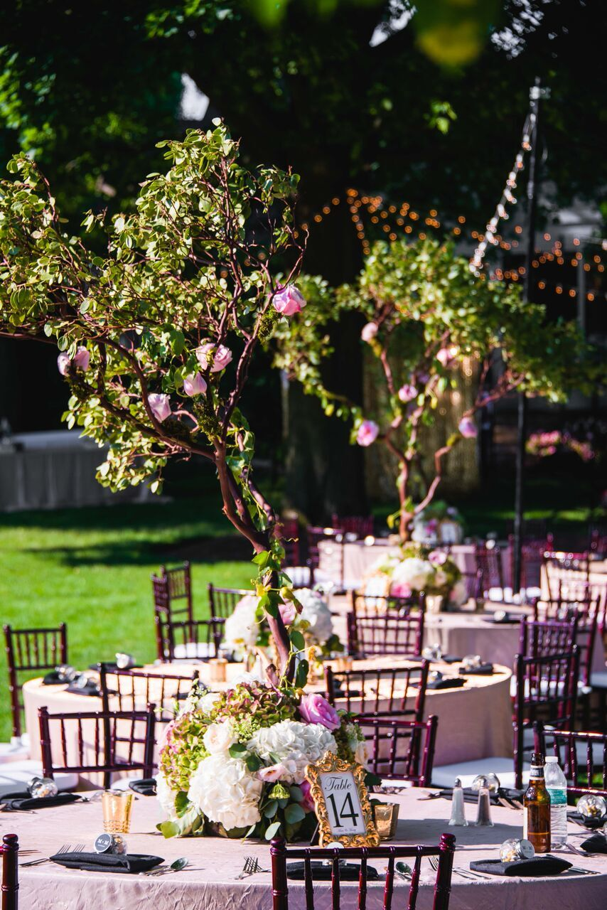 Bright Garden Reception