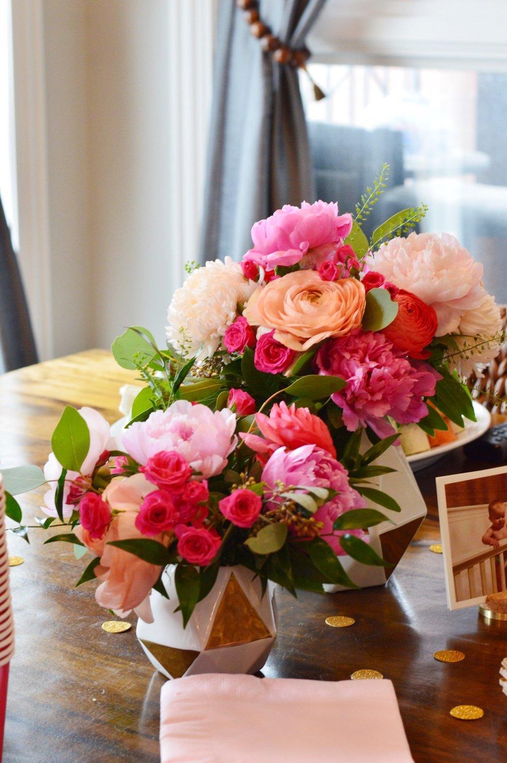 Bright Birthday Floral Arrangement