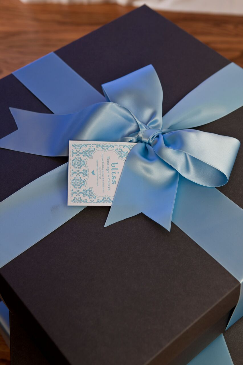 Baby Blue Wrapping