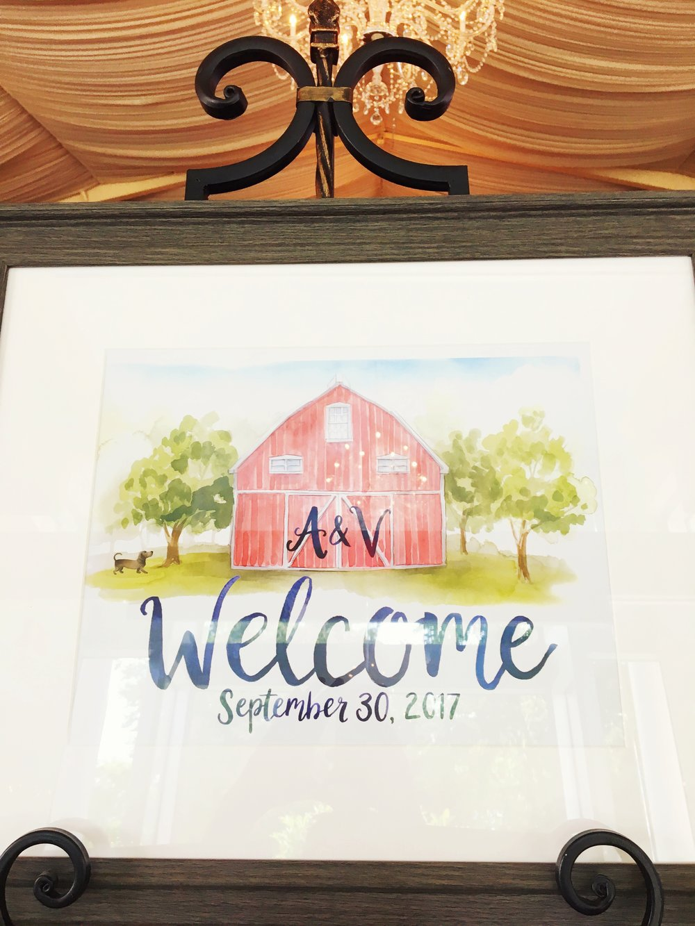 Rustic Barn Bridal Shower
