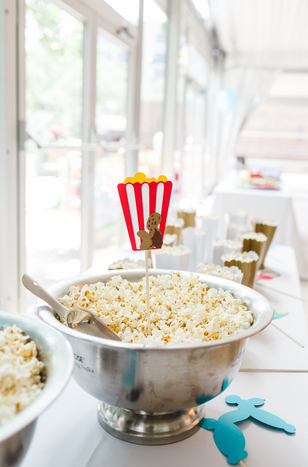 party popcorn, star wars birthday party, boy birthday party, Wrap It Up Parties