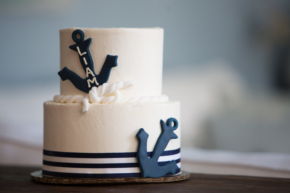 nautical birthday cake, nautical first birthday, boy birthday party, Wrap It Up Parties