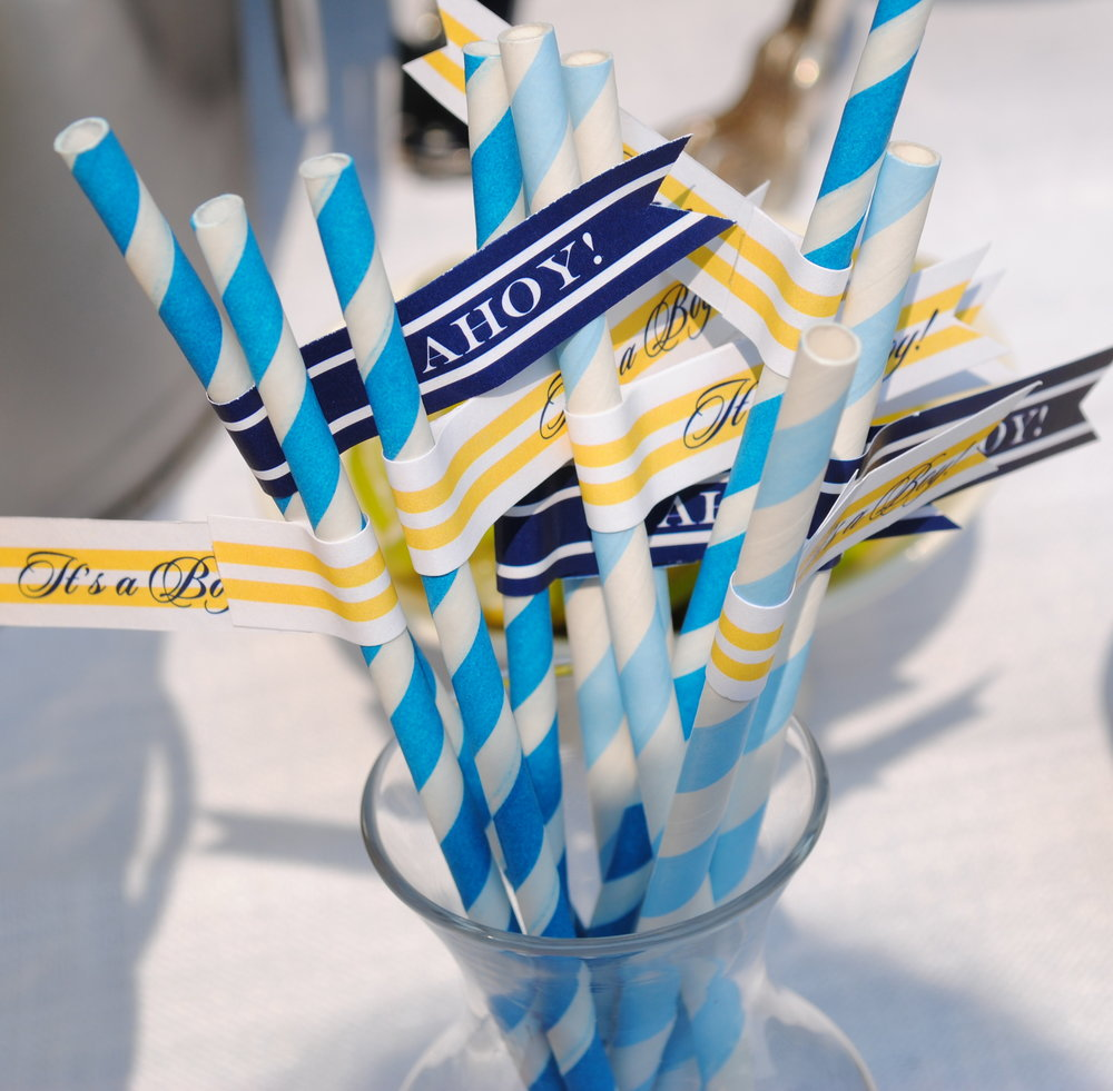 nautical baby shower, baby boy shower details, Wrap It Up Parties