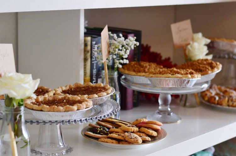 vintage bridal shower sweets vintage trays planning by wrap it up parties