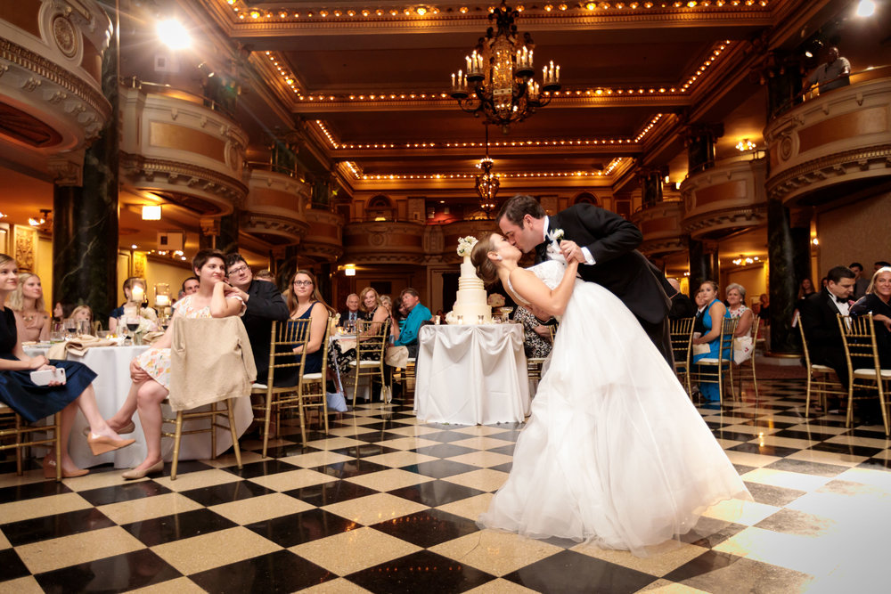 Bride and Groom Dance   School of the Art Institute  Planning by Wrap It Up Parties