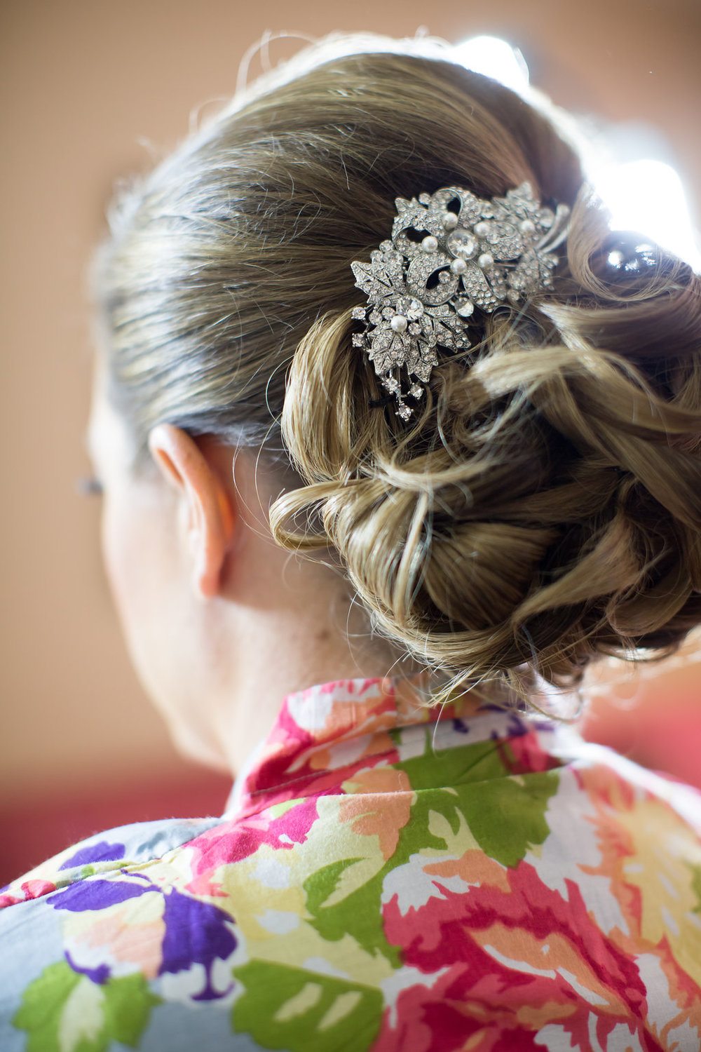 Wedding Hair  Planning by Wrap It Up Parties