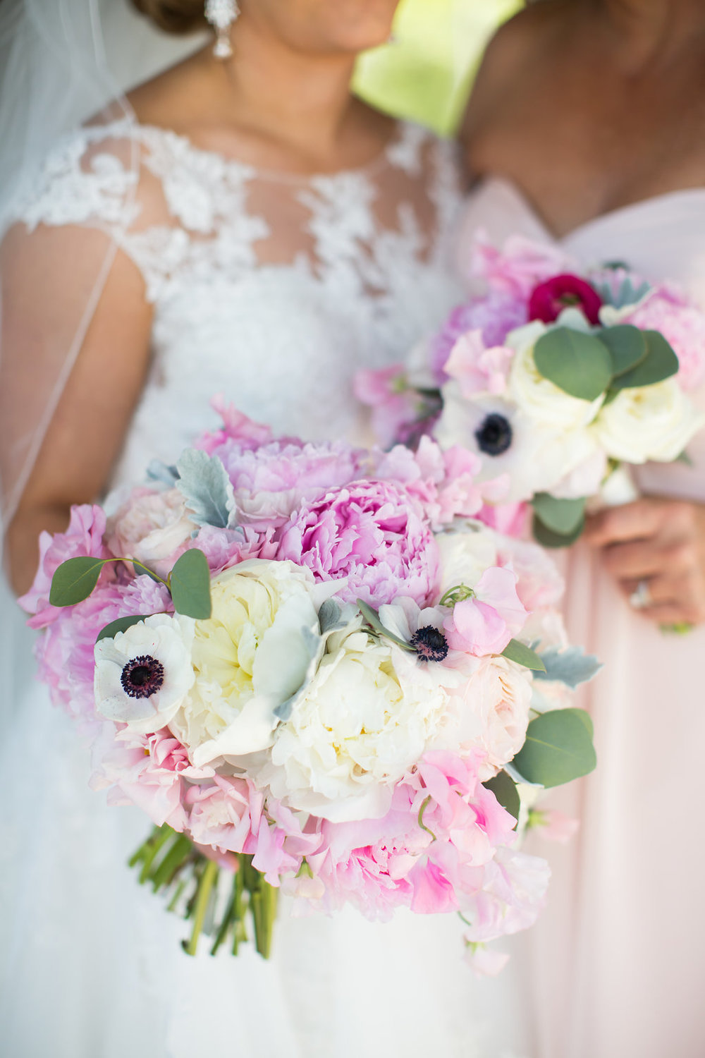 Pink Wedding Bouquets  Planning by Wrap It Up Parties