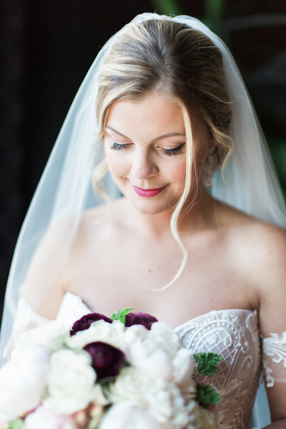 Bridal Makeup  Bridal Bouquet   Planning by Wrap It Up Parties