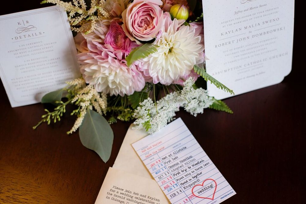 Pink and White Floral Arrangement  Wedding Details  Planning by Wrap It Up Parties
