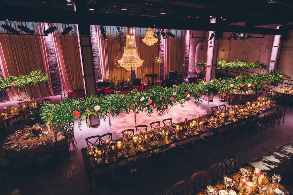 Wedding Reception Decor  Fall Colored Decor  Planning by Wrap It Up Parties