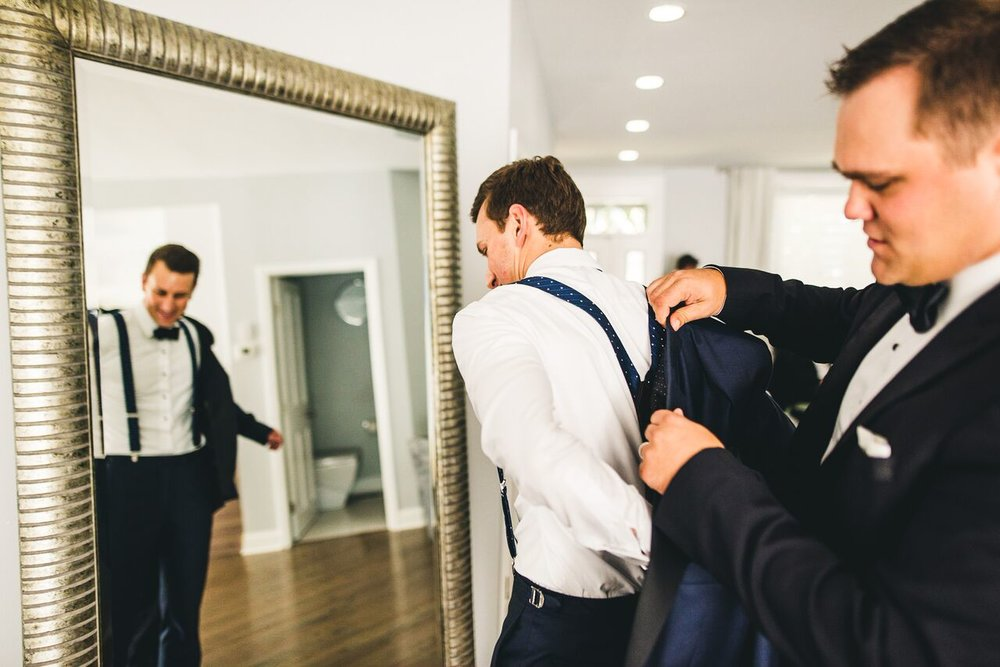 Groom Getting Ready  Planning by Wrap It Up Parties
